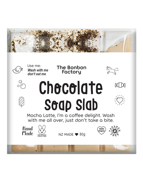 Mocha Latte Soap Slab
