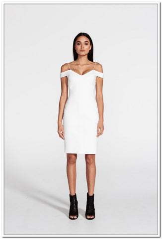 Crowded Dress - Ivory - FashionLife  - 1