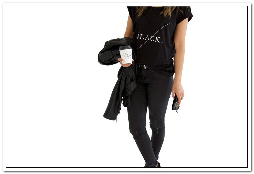 Design Ministry 'BLACK TEE' - a very stylish tee! - FashionLife  - 4