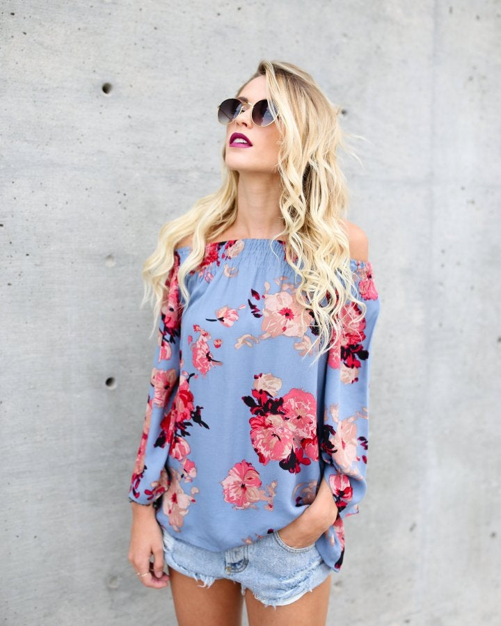 Floral Off Shoulder Top