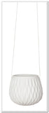Hanging Planter - Diamond - White - FashionLife  - 3