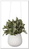 Hanging Planter - Diamond - White - FashionLife  - 2