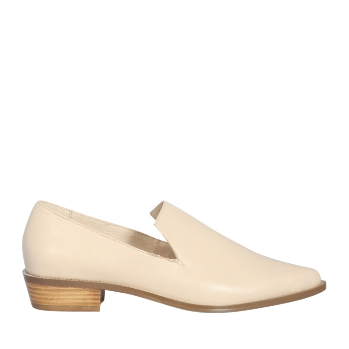 Hyde - Camel Flats by SKIN FOOTWEAR