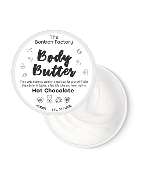 Hot Chocolate Body Butter - Decadent!