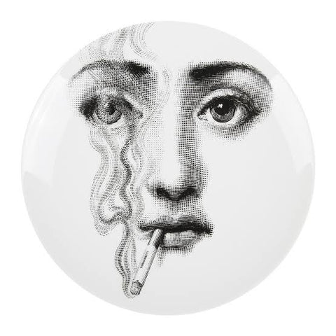 PIERO FORNASETTI INSPIRED PLATE - TABLE OR WALL