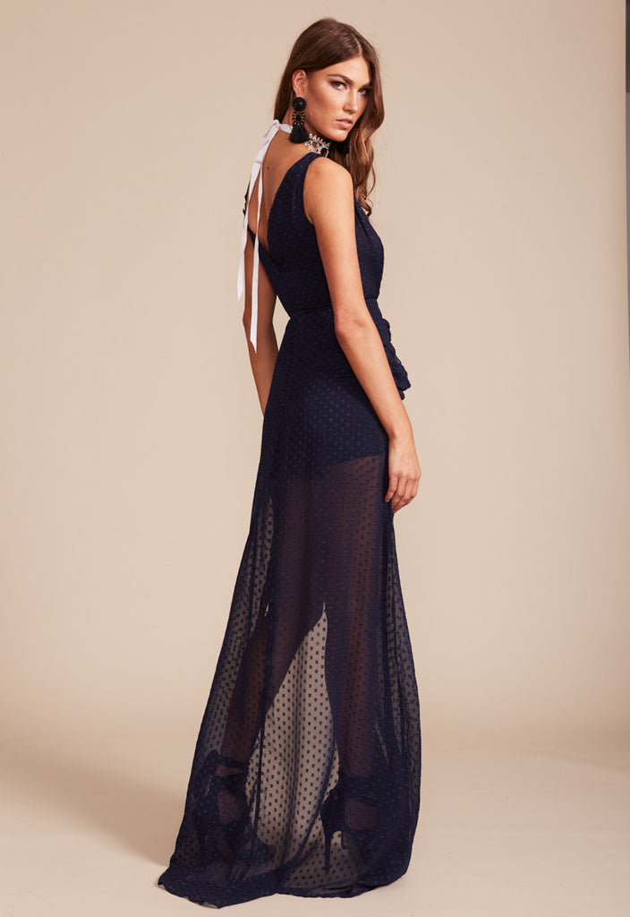 Take Me To Cannes Maxi Dress - Navy - Stunning!!