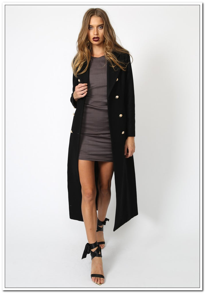 Donatella Long Winter Coat - FashionLife  - 2