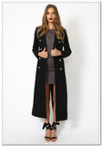 Donatella Long Winter Coat - FashionLife  - 1