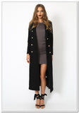 Donatella Long Winter Coat - FashionLife  - 3