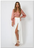 Taromina Wrap Top - Blush - FashionLife  - 2