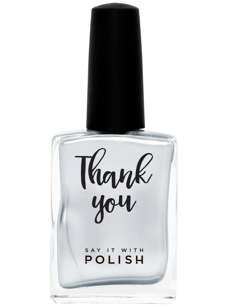 """THANK YOU"" - SAY IT WITH POLISH"