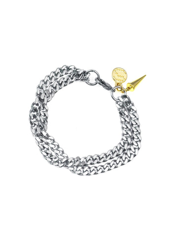 Arrested Development Bracelet - Silver/Gold