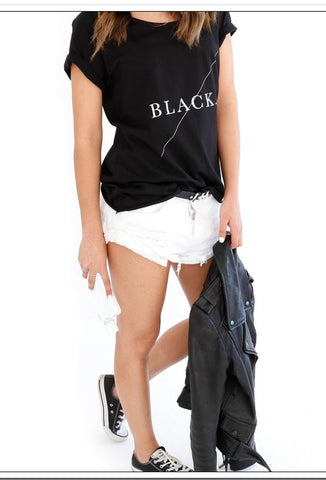 Design Ministry 'BLACK TEE' - a very stylish tee! - FashionLife  - 1