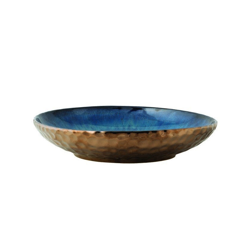 Blue Crater Bowl - FashionLife