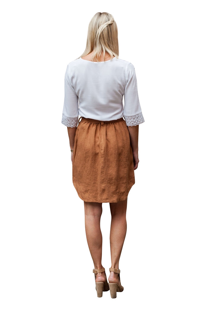 City Skirt - Rust