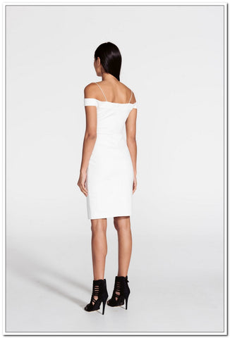 Crowded Dress - Ivory - FashionLife  - 2