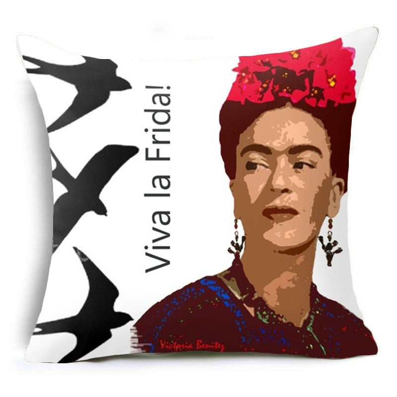Frida Kahlo Cushion Cover 45 X 45cm