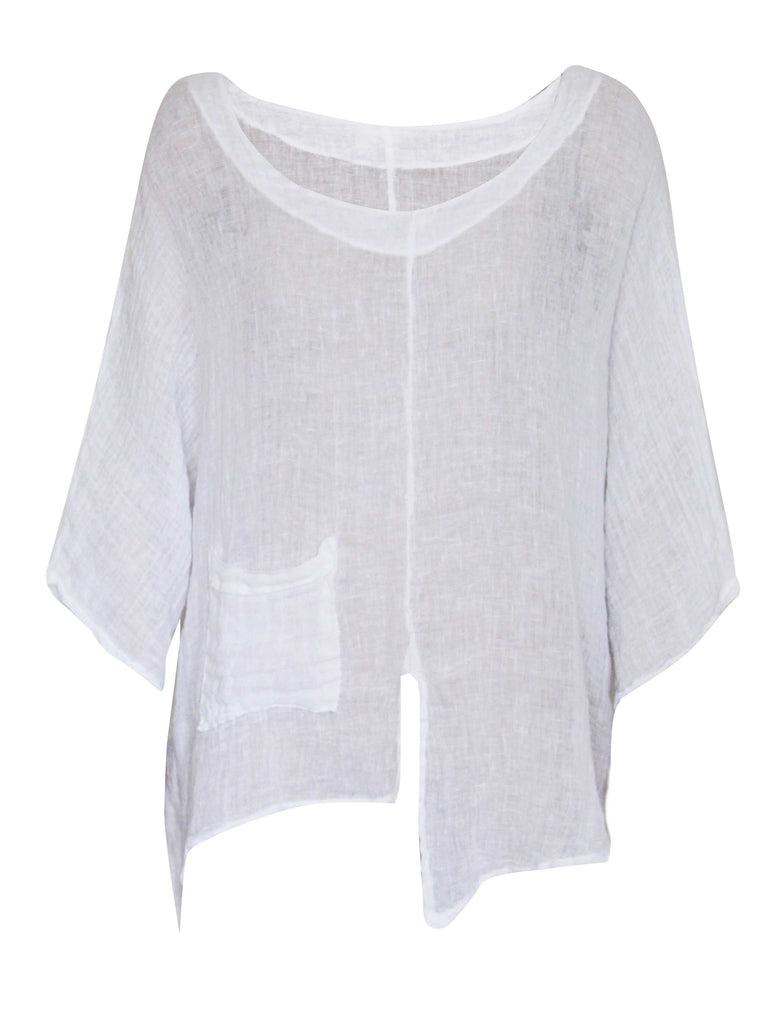 Magari Linen Top