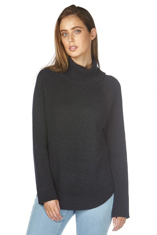 Olivia Roll Neck Knit