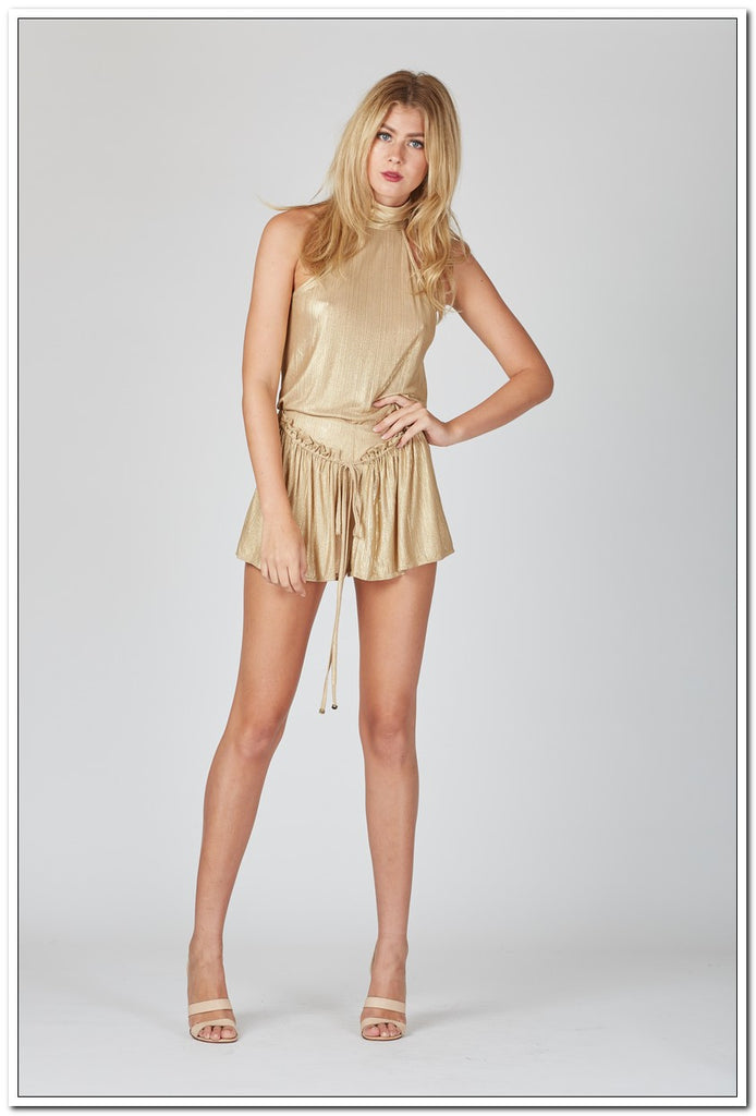 Wanderlust Keepers Top - Gold - FashionLife  - 2