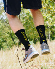 Inspyr Socks WORK HARD Athletic Crew Sock