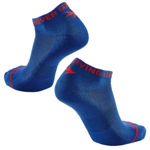 Inspyr Socks NEVER GIVING UP Athletic Ankle Sock