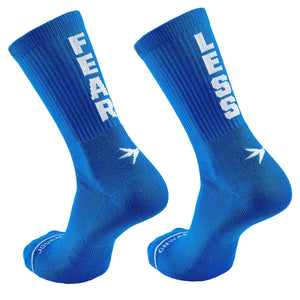 Inspyr Socks FEAR LESS Athletic Crew Sock