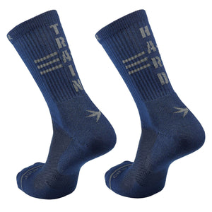 Inspyr Socks TRAIN HARD Athletic Crew Sock