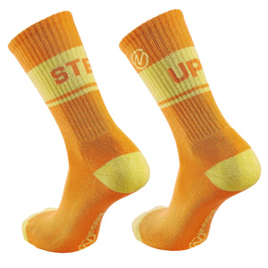 "Inspyr Socks ""Step Up"" Inspirational Crew Sock"
