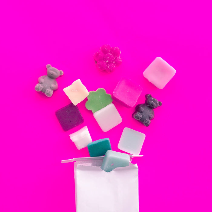 Half Pound Mystery Melts! - Fragrant Wax Melts & Wax Cubes | Crumble Co. Scented Wax Bars & Candles