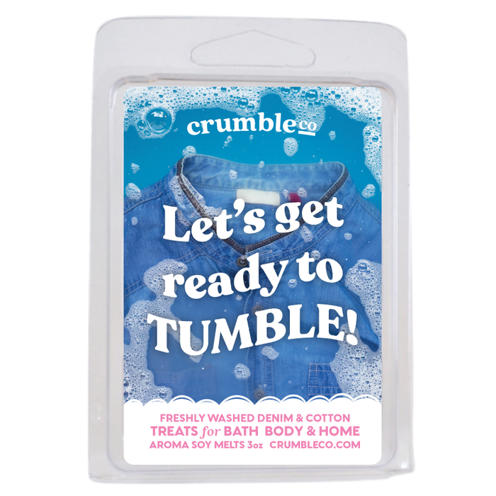 Lets Get Ready to Tumble! - Fragrant Wax Melts & Wax Cubes | Crumble Co. Scented Wax Bars & Candles