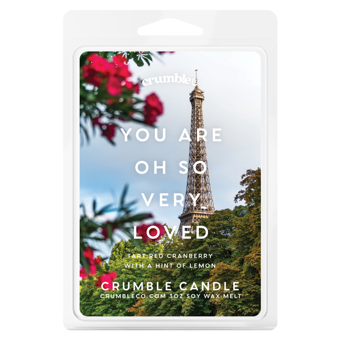 You Are Oh So Very Loved Wax Melts - Fragrant Wax Melts & Wax Cubes | Crumble Co. Scented Wax Bars & Candles