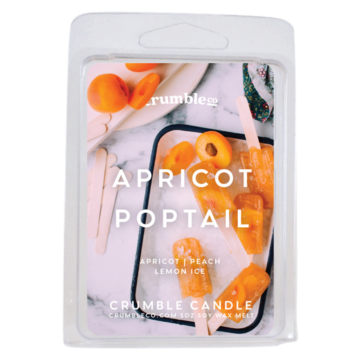 Apricot Poptail Wax Melts - Fragrant Wax Melts & Wax Cubes | Crumble Co. Scented Wax Bars & Candles