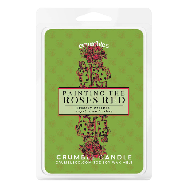 Painting the Roses Red Wax Melts - Fragrant Wax Melts & Wax Cubes | Crumble Co. Scented Wax Bars & Candles