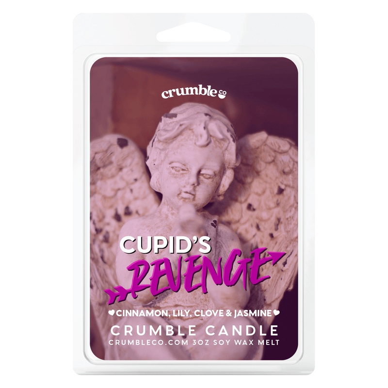 Cupids Revenge Wax Melts - Fragrant Wax Melts & Wax Cubes | Crumble Co. Scented Wax Bars & Candles