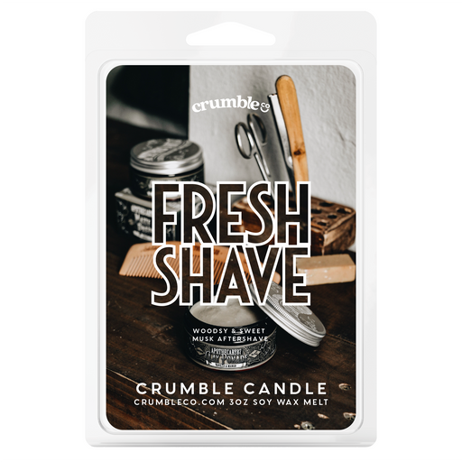 Fresh Shave Wax Melts - Fragrant Wax Melts & Wax Cubes | Crumble Co. Scented Wax Bars & Candles