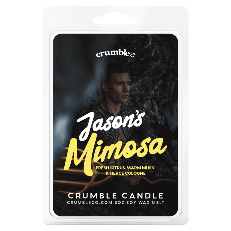 Jason's Mimosa Wax Melts - Fragrant Wax Melts & Wax Cubes | Crumble Co. Scented Wax Bars & Candles