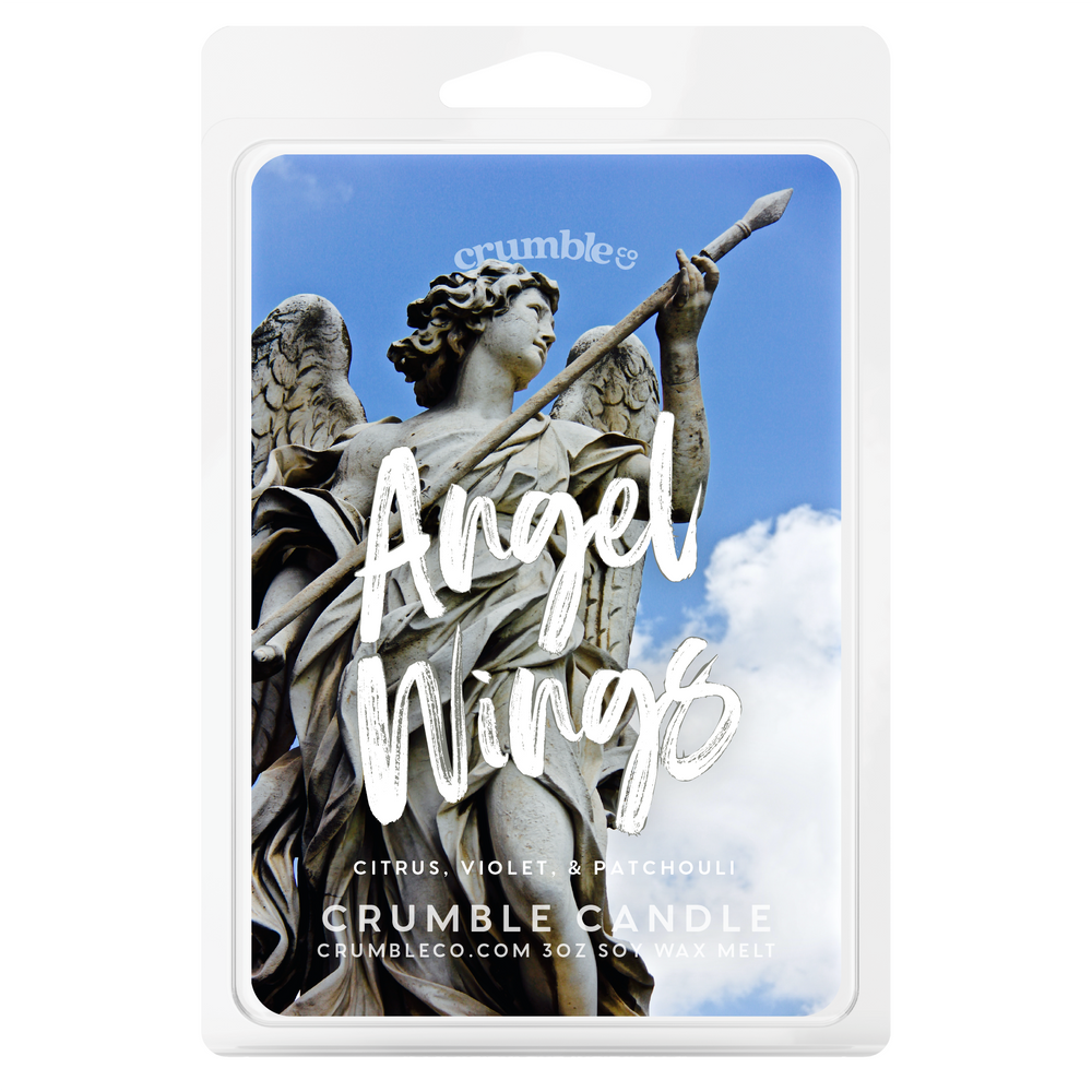 Angel Wings Wax Melts - Fragrant Wax Melts & Wax Cubes | Crumble Co. Scented Wax Bars & Candles