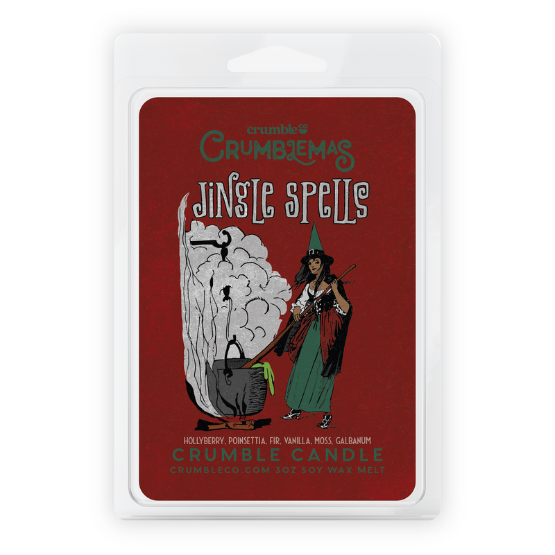 Jingle Spells Wax Melts - Fragrant Wax Melts & Wax Cubes | Crumble Co. Scented Wax Bars & Candles