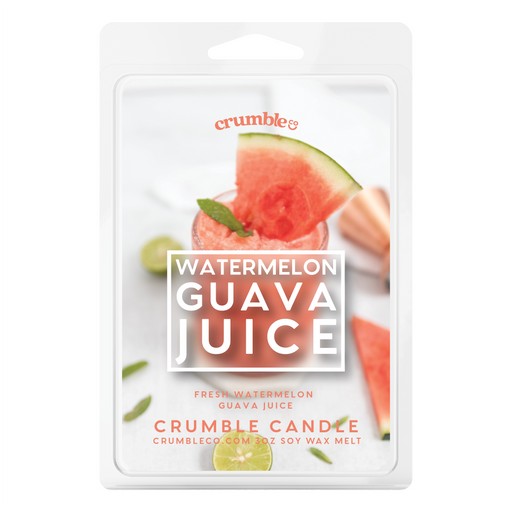 Watermelon Guava Juice Wax Melts - Fragrant Wax Melts & Wax Cubes | Crumble Co. Scented Wax Bars & Candles