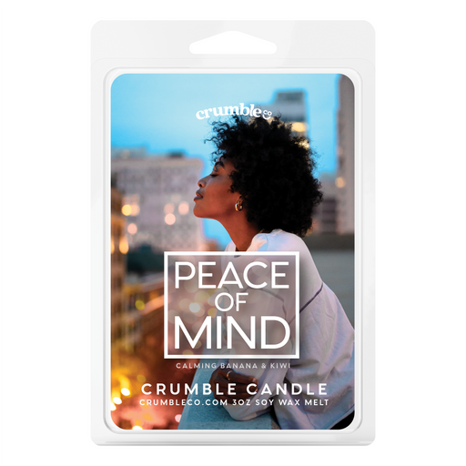 Peace Of Mind Wax Melts - Fragrant Wax Melts & Wax Cubes | Crumble Co. Scented Wax Bars & Candles