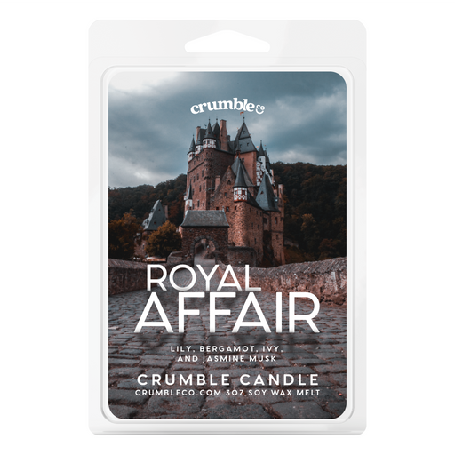 Royal Affair Wax Melts - Fragrant Wax Melts & Wax Cubes | Crumble Co. Scented Wax Bars & Candles