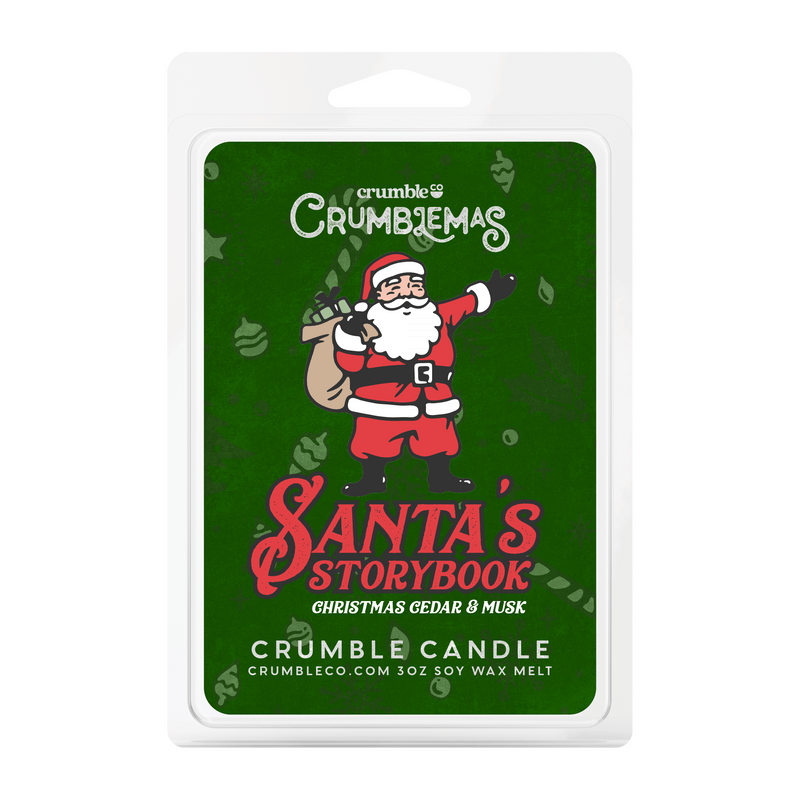 Santa's Storybook Wax Melts - Fragrant Wax Melts & Wax Cubes | Crumble Co. Scented Wax Bars & Candles