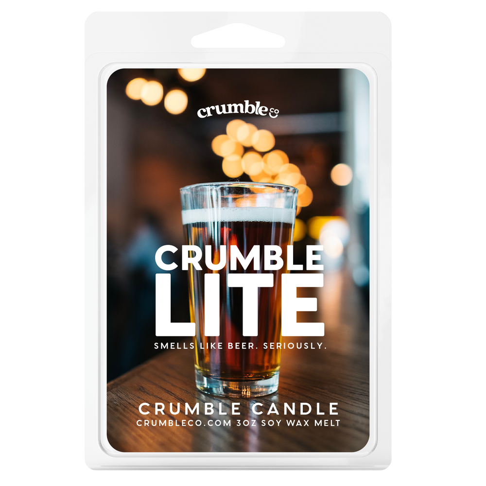 Crumble Lite (Beer) Wax Melts - Fragrant Wax Melts & Wax Cubes | Crumble Co. Scented Wax Bars & Candles