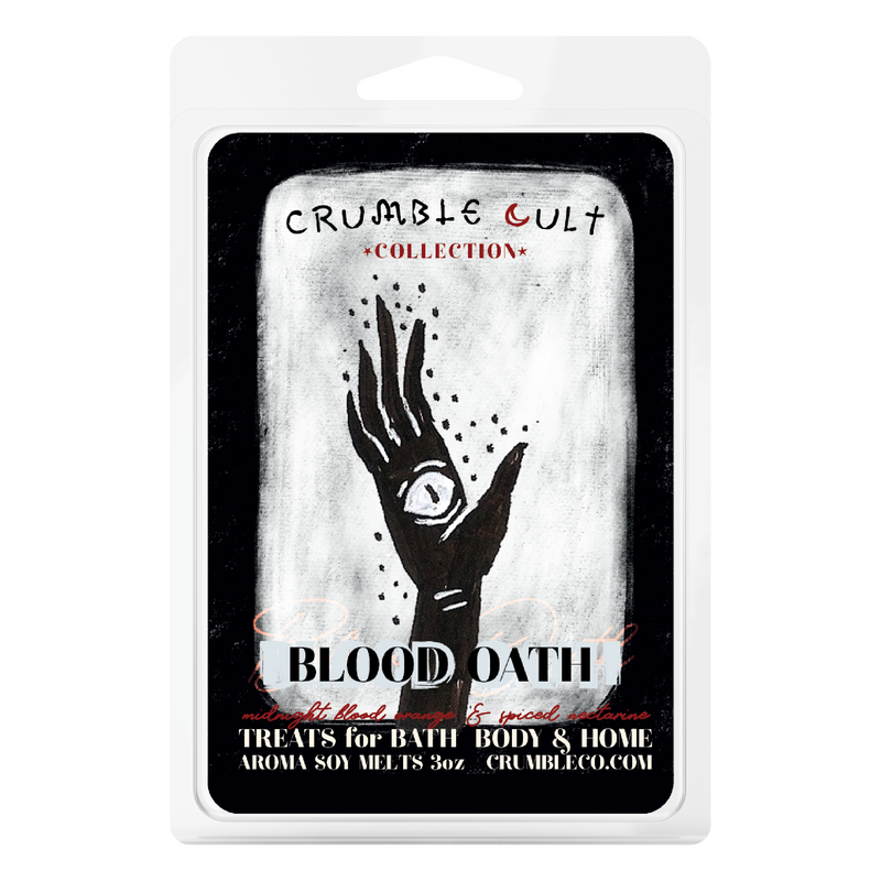 Blood Oath Wax Melts - Fragrant Wax Melts & Wax Cubes | Crumble Co. Scented Wax Bars & Candles