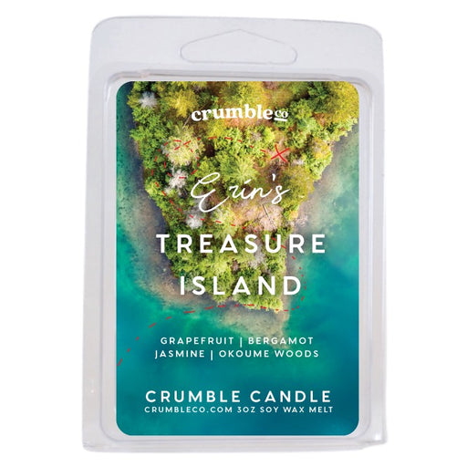 Erin's Treasure Island Wax Melts - Fragrant Wax Melts & Wax Cubes | Crumble Co. Scented Wax Bars & Candles