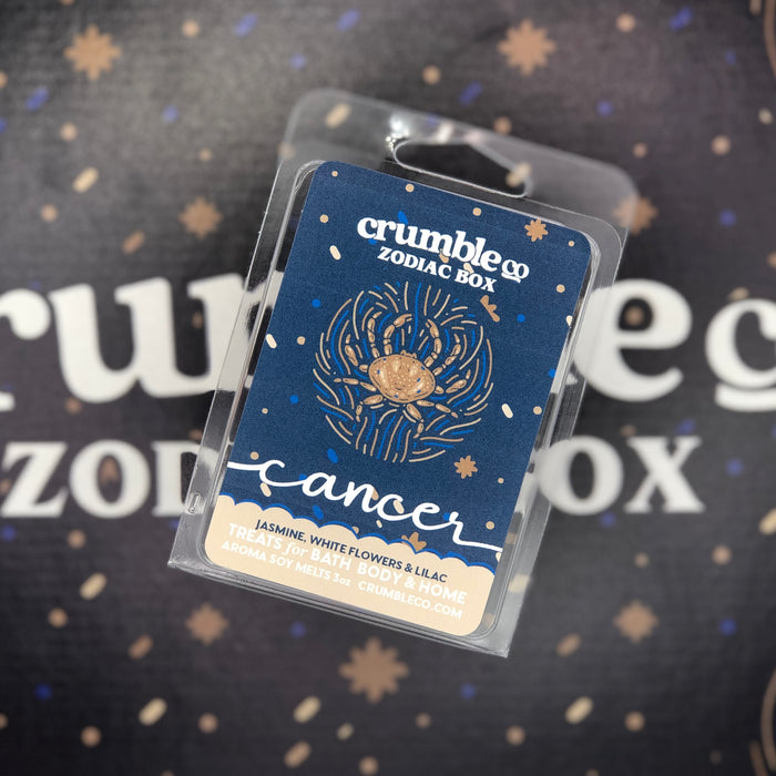 Zodiac Box Individual Signs - Fragrant Wax Melts & Wax Cubes | Crumble Co. Scented Wax Bars & Candles