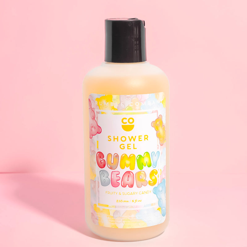 Shower Gel | Gummy Bears - Fragrant Wax Melts & Wax Cubes | Crumble Co. Scented Wax Bars & Candles