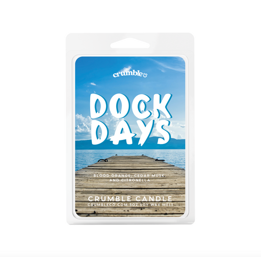 Dock Days Wax Melt - Fragrant Wax Melts & Wax Cubes | Crumble Co. Scented Wax Bars & Candles