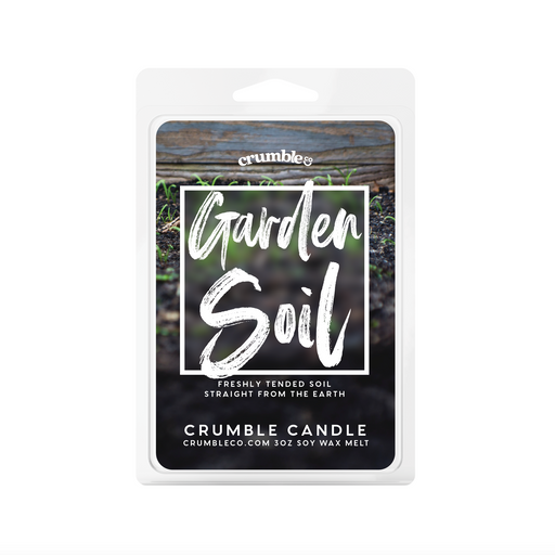 Garden Soil Wax Melts - Fragrant Wax Melts & Wax Cubes | Crumble Co. Scented Wax Bars & Candles